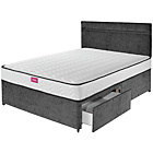 more details on Airsprung Flinton 1000 Pkt Memory 2 Drw Small Double Divan.