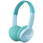more details on Philips SHK4000 Children's Bluetooth Headphones - Blue.