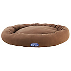 more details on RSPCA Large Donut Dog Bed - Brown.