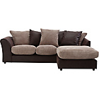 more details on HOME New Bailey Reg Jumbo Cord Right Corner Sofa - Natural.