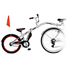 more details on Weeride Adult Co Pilot Trainer Bike - Silver.