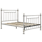 more details on Schreiber Bourton Chrome + Crystal King Bed.