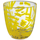 more details on Habitat Emery Yellow Pattern Tumbler 40cl