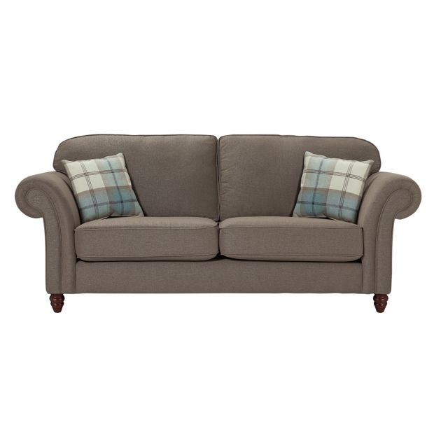 Buy Heart Of House Windsor 3 Seater High Back Sofa Mink