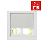more details on ColourMatch Thermal Blackout Roller Blind - 2ft-Cotton Cream
