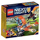 more details on LEGO Nexo Knighton Battle Blaster Playset.