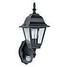 more details on 4 Panel 100 Watt Classic PIR Lantern - Black.