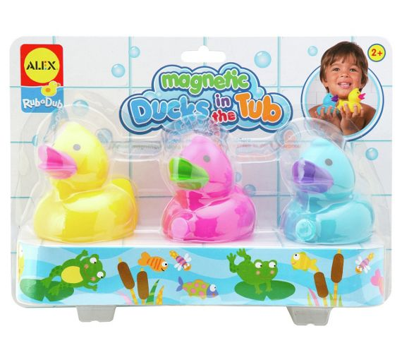 buy alex toys magnetic ducks in the tub at your online shop for baby bath toys and. Black Bedroom Furniture Sets. Home Design Ideas