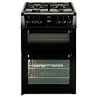 more details on Beko BDVG694 Double Gas Cooker - Black.