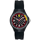 more details on Scuderia Ferrari Men's Pit Crew Black Dial Black Strap Watch