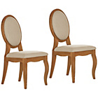 more details on Schreiber Castleton Pair Of Natural Dining Chairs.