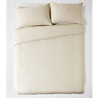 more details on Bella Sateen Champagne Bedding Set - Double.