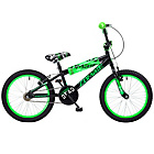 more details on Concept Zombie 18 inch BMX Bike - Black/Green.