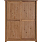 more details on Schreiber Harbury 2 Door Sliding Wardrobe - Oak.