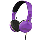 more details on Skullcandy Grind Headphones with Taptech - Purple.