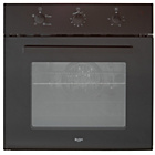 more details on Bush Single Electric Fan Oven - Black.
