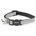 more details on Reflective Safety Buckle Cat Collar Silver - Pack of 3.