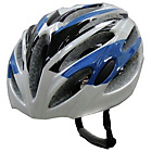 more details on Zoran HEL4WB Adult Helmet - White and Blue.