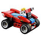 more details on LEGO Creator Red Go Kart - 31030.