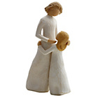 more details on Willow Tree Mother and Daughter Figurine.
