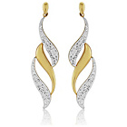 more details on 9ct Gold Crystal Drop Earrings.