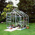 more details on Halls Popular Toughened Glass 6 x 6ft Greenhouse with Base.