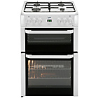 more details on Beko BDVG694 Double Gas Cooker - White.