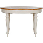 more details on Schreiber Chalbury 4-6 Seat Extend. Dining Table -White/Oak.
