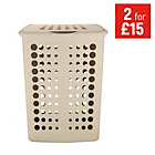 more details on ColourMatch Laundry Hamper - Country Cream.