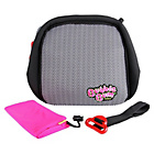 more details on BubbleBum Inflatable Car Booster Seat - Neon Pink.