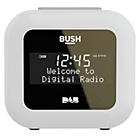 more details on Bush DAB Alarm Clock Radio - White.