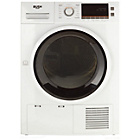 more details on Bush CD8TDW 8KG Condenser Tumble Dryer - White.