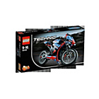more details on LEGO Technic Street Motorcycle - 42036.