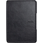 more details on Kindle Wi-Fi Leather Cover - Black.