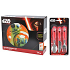 more details on Star Wars BB-8 Ceramic Breakfast and Cutlery Set.