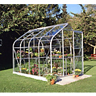more details on Halls Supreme Glass 8 x 6ft Greenhouse with Base.