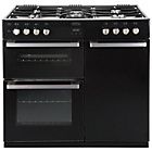 more details on Belling DB4 90DFT Dual Fuel Range Cooker - Black.