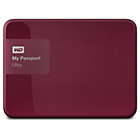 more details on WD Passport Ultra 3TB Portable Hard Drive - Berry.