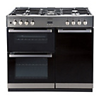 more details on Belling DB4 90DFT Dual Fuel Range Cooker - Stainless Steel.