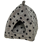 more details on Petface Plush Cat Igloo - Grey.