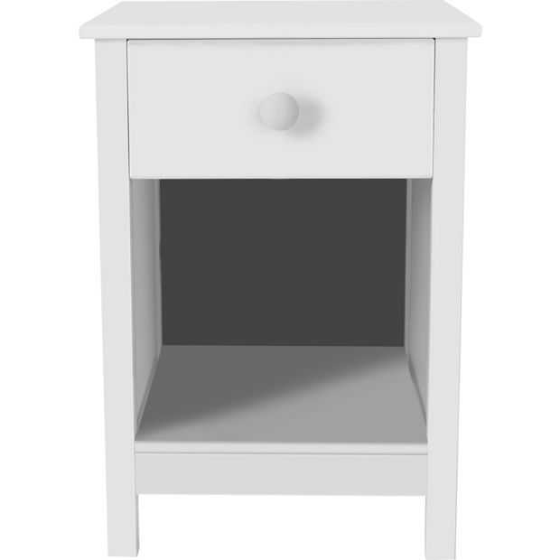 Buy home kids scandinavia bedside chest white at argos for Bedroom units argos