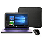 "more details on HP 15.6"" Pentium 8GB 2TB Laptop - Purple."