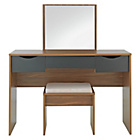 more details on Hygena Berkeley Dressing Table - Black and Walnut