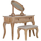 more details on Schreiber Burleston Dressing Table with Mirror and Stool.
