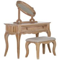 Schreiber Burleston Dressing Table with Mirror and Stool