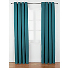 more details on ColourMatch Lima Eyelet Curtains - 168x183cm - Lagoon.