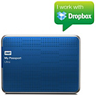 more details on WD Passport Ultra 3TB Portable Hard Drive - Blue.