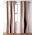 more details on ColourMatch Lima Eyelet Curtains - 168x183cm - Cafe Mocha.