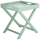more details on Habitat Oken Blue Slate Square Tray Table