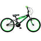 more details on Concept Zombie 20 inch BMX Bike - Black/Green.